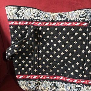 Vera Bradley Classic Black Tote Bag (2002 Pattern)